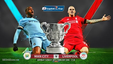 Manchester City Liverpool Capital One Cup Final 2016