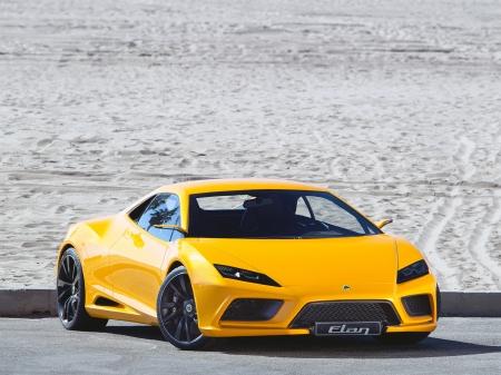 Lotus Elan Concept Lotus Cars Background Wallpapers On Desktop