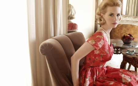 january jones - january, actress, girl, jones