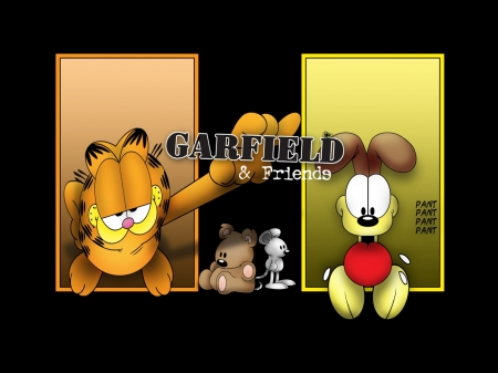 Garfield And Friends Other Entertainment Background Wallpapers On Desktop Nexus Image 2088190