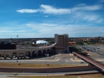 Texas Tech Parking Garage, Looking South