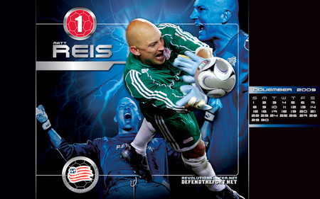 Matt Reis - soccer, mls, new england revolution