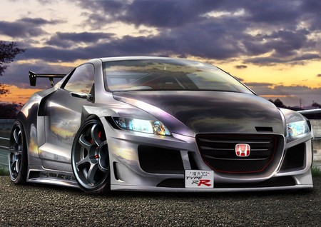 Honda - honda, digiart, tuning, car