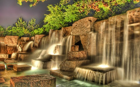 Waterfalls 3d And Cg Abstract Background Wallpapers On Desktop