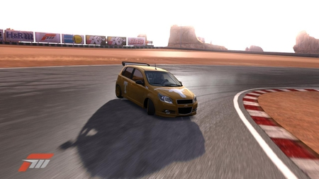 Forza 3 Texas Drift - chevorlet, texas, forza, forza 3, aveo, car, chevy