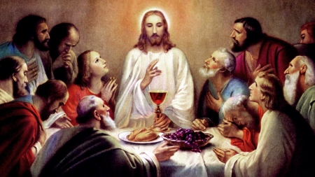 Last supper of the LORD - christ, jesus, gospel, eucharistic, religion, supper