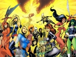 Marvel Women Superheroes