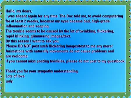 Please notice - notice, please, fliccker, twinkle