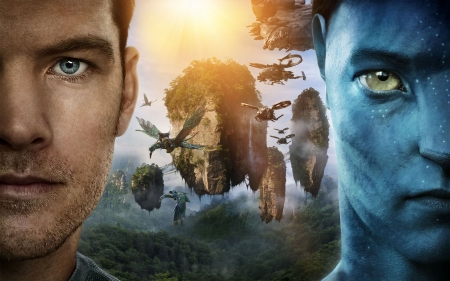 Avatar 2009 Movies Entertainment Background Wallpapers On Desktop Nexus Image 2092923