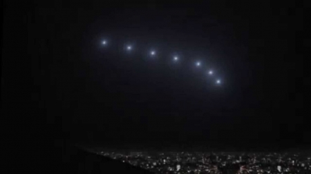 Phoenix Lights 1997 - ufo, aliens, spaceship, lights