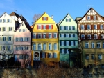 Colorful German Houses