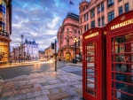 London: Red Telephone Booths