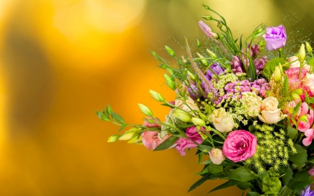 Floral background - colorful, pretty, lovely, bouquet, flowers, beautiful, spring, floral