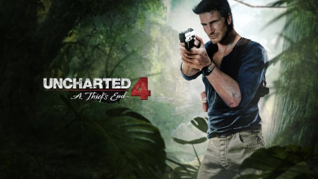Uncharted 4: Thiefs End - 2016, ps4, thief, Uncharted, end, 4
