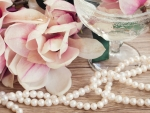 Magnolias and pearls