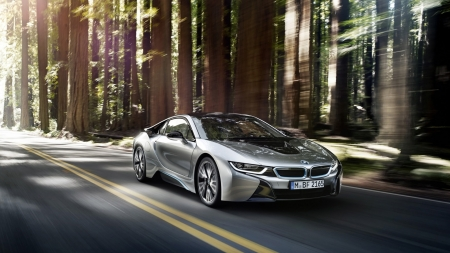 BMW i8 - BMW, drive, wheel, car