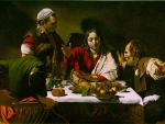 By Caravaggio * Supper at Emmaus