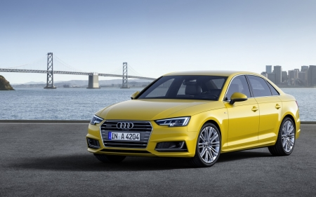 Audi - Audi, yellow, wheel, car