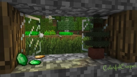 Minecraft Villager farm - farm, cool, wallpaper, awesome, village, minecraft, dog