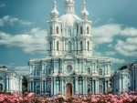 smolny convent in st petersburg russia