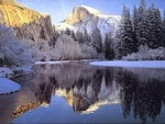 Icy Mountains / Snowy Lake