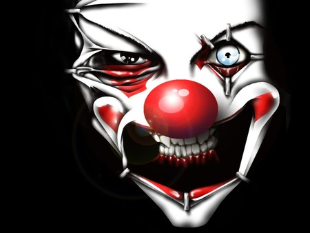 Killer Clown - scary, 21, clown, crazy fuckin clown