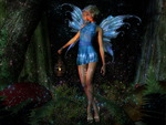 Lovely Blue Fairy