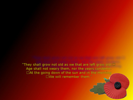 rememberence to all who have fallen - rememberence, poppy, vetrans-day, airmen, sailors, soldiers