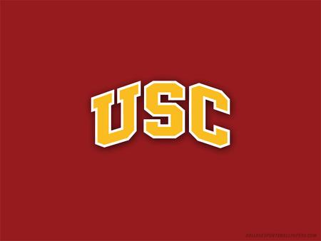 University Of Southern California Football Sports Background