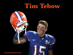 Tim Tebow (helmet off)