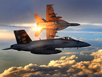 FA-18 Super Hornets of Strike Fighter Squadron 31