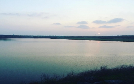 lake in texas - pond, texas, water, usa, nature, sky, lake