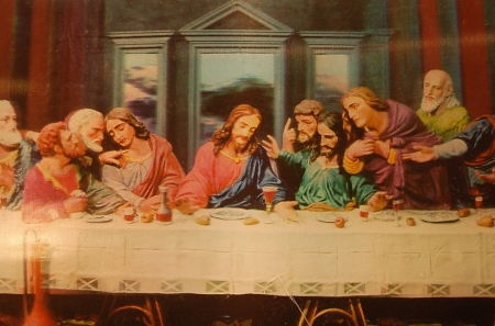 The last supper - christ, jesus, gospel, painting, religion, supper