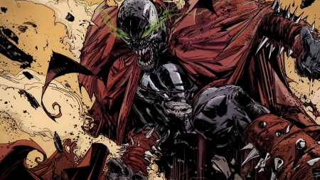 Spawn - hero, evil, comic, Spawn
