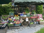 Green grocers handcart