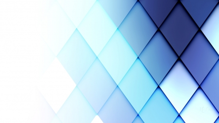 Polygon Blue Fade Mind Teasers Abstract Background Wallpapers On