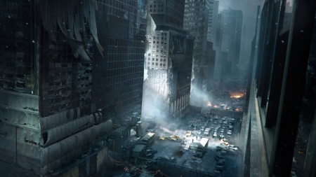 Tom Clancy's The Division - new york, fantasy, division, city, cg, game, tom clancy, scenery
