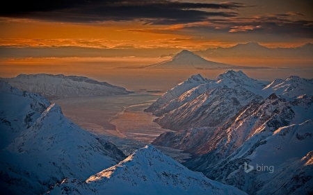 Chigmit Mountains and Lake Clark National Park and Preserve Alaska - Alaska, And, National, Mountains, Preserve, Chigmit, Lake, Park, Clak