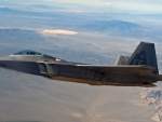 F22 Flying by Area 51