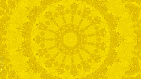 Youthfully Yellow - kaleidoscope, kaleidoscopes too1, lacey, simp1e, lace, golden, yellow