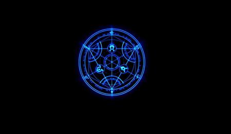 Transmutation Circle Full Metal Alchemist Anime