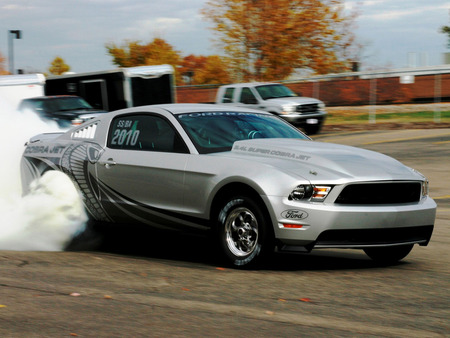 Ford Mustang Cobra Jet 2010 Ford Cars Background Wallpapers On