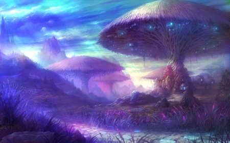 Beautiful Fantasy Land Art
