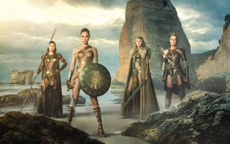 Wonder Woman 2017 Movies Entertainment Background