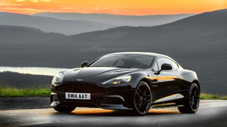 Aston Martin Black Vanquish Aston Martin Cars Background