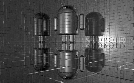 Shiny Android - 3d, abstract, android, os