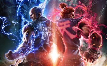 Tekken 7 Retribution - 2016, games, 7, retribution, video, Tekken