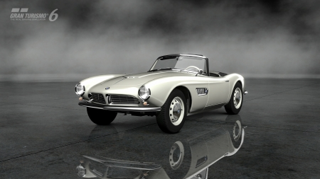 Gran Turismo 6 - GT6, BMW, 1957 BMW 507, racing, video game, game, cars, Classic, gaming, Gran Turismo 6, vintage