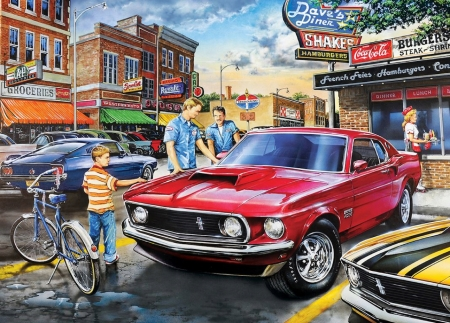 Admiration - mustang, muscle, boss, states, ford, car, america, admiration