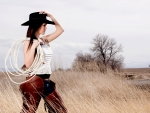Cowgirl In The Country